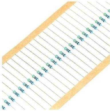 100PCS 2KΩ 2K Ohm 1//4W 0.25W 1/% accuracy Metal Film Resistors RoHS R-MF