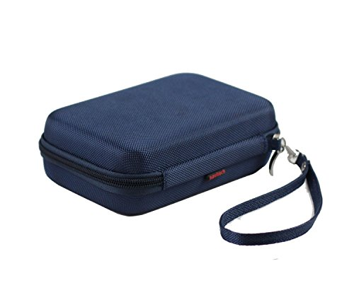 Navitech Dark Blue Power Bank EVA Cover / Case / Travel Case For Power bank 25000mAh Portable Charger High Capacity External Battery