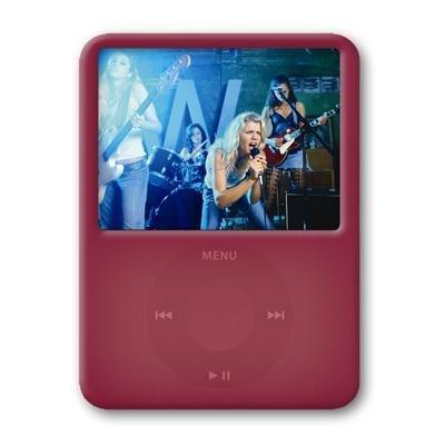 ezGear ezSkin for iPod nano 3G (Ruby - Ezgear Protective Case