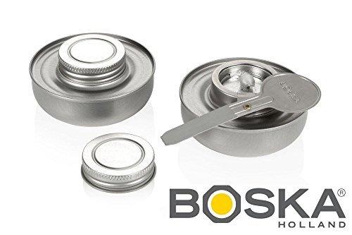Boska Set of 2 Fuel Safe Fondue Burners