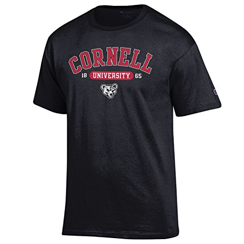 Cornell Big Red NCAA College T shirt made by Champion Black L