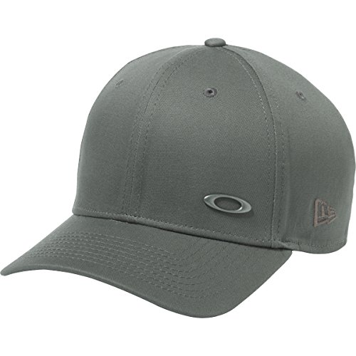 Oakley Men's Tinfoil Cap, Grigio Scuro, Medium/Large