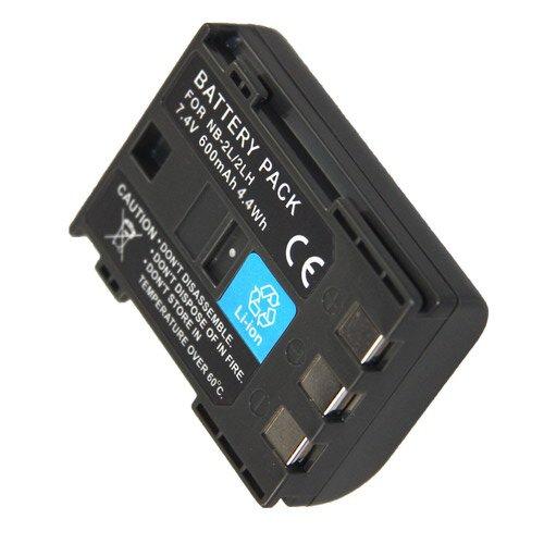 BATTERIA Fotocamera-Dual Caricabatteria per Canon PowerShot s50//s60//s70//s80