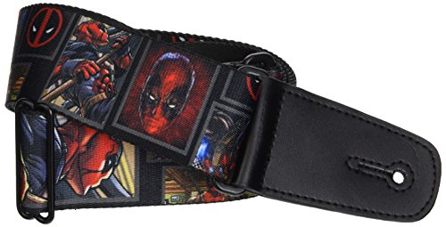 Buckle-Down GS-WDP013 Marvel Universe Guitar Strap -