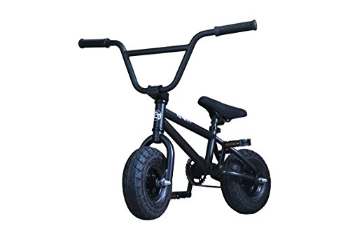 R4 Matte Black Complete Pro Mini Bmx Bicycle Trick Jump Freestyle With Pegs, USA -  R4BLKmini