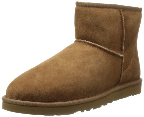 UGG Men's Classic Mini Winter Boot, Chestnut, 10 US/10 M US ()