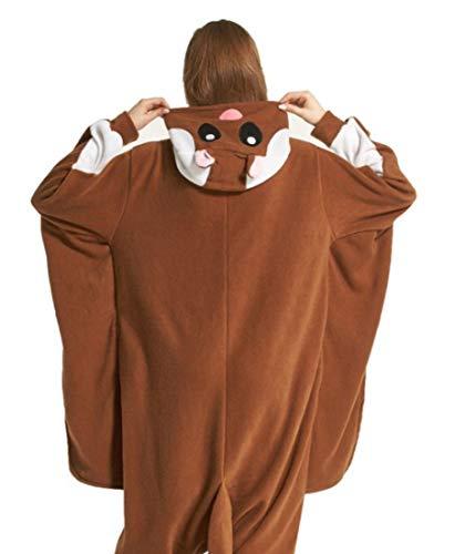 Carnevale Adulti Unisex Pigiama Animale Mouse Costume Kigurumi Halloween Cosplay TqR1YY
