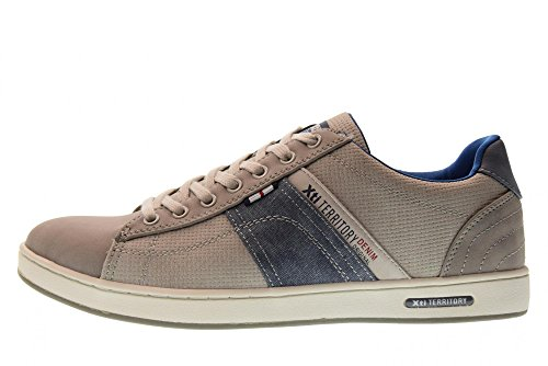 Xti Chaussures Hommes Baskets Basses 47147 Gris Gris e5uTQL