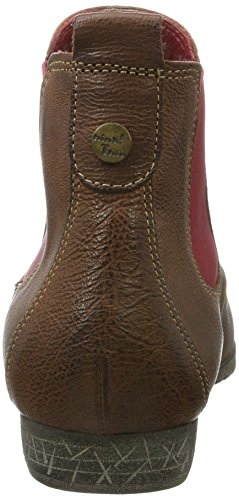 Women's Ebbs Think Brown Black Kombi Chelsea Espresso 42 Boots wq1d51C