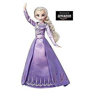 Disney Die Eiskönigin Elsa aus Arendelle Deluxe Modepuppe mit Outfit im Ombré-Look, inspiriert von Disneys Die Eiskönigin 2 – Spielzeug für Kinder ab 3 Jahren 14