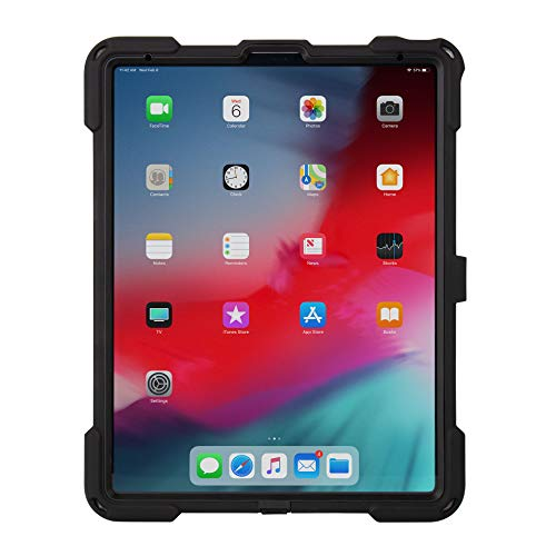 The Joy Factory aXtion Bold MPS Water-Resistant Secure Rugged Shockproof Case for iPad Pro 12.9'' [3rd Gen] Built-in Screen Protector, Hand Strap (CWA413KL) by The Joy Factory (Image #6)
