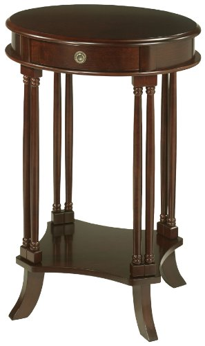 Sterling 6000017 Bellingham Traditional Plantation Grown Hardwood Side Table, 28-1/2-Inch, Mahogany