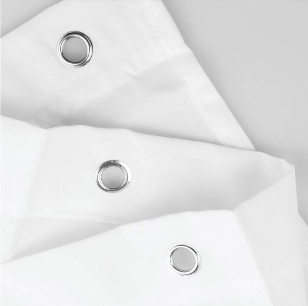 W Yiciyici Cortina de Ducha de impresi/ón Digital 3D Patr/ón de Onda Grande Tela Ba/ño Cortina de Ducha Impermeable con ganchos-150 x180 H
