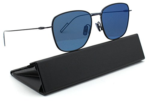 Dior Homme Dior Composit 1_1/S Unisex Metal Sunglasses (Blue Black Frame, Blue Mirror Lens - Dior Mens Sale