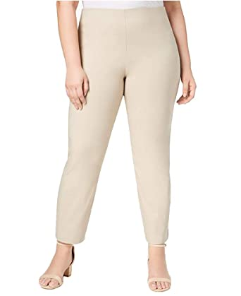 11500c8d6eb Charter Club Plus Size Chelsea Tummy-Control Skinny Leg Pull-on Ankle Pants  (