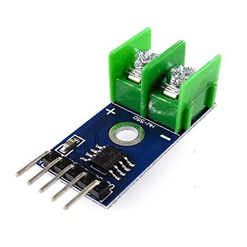 Manakayla HW-550 MAX6675 Type K Thermocouple Module Temperature Sensor Module Blue