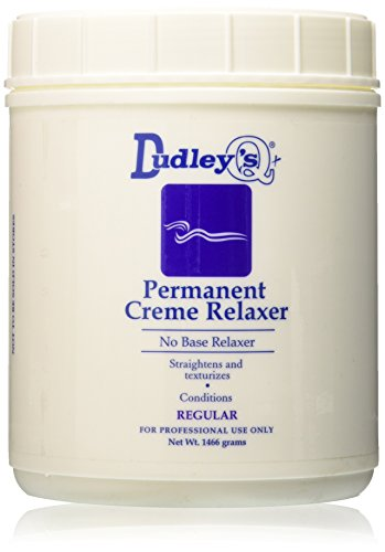 Dudley's No Base Regular Permanent Creme Relaxer, 52 Ounce by Dudley's