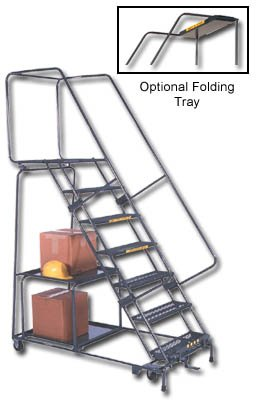 Ballymore Tough Stock Picking Ladder - 10 Step, 32 x 74 inch -- 1 each.
