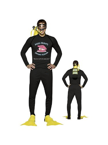 Rasta Imposta Mike Hunt's Diving School, Black, One Size