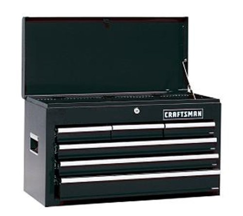 (Craftsman 9-2108 26-Inch Ball-Bearing 6-Drawer Tool Chest)