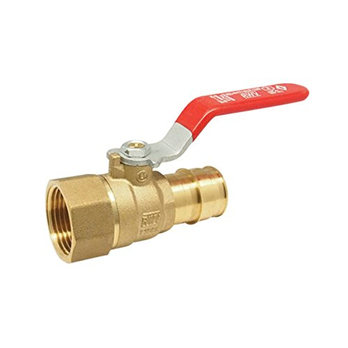 Red-White Valve 12RW5016AB Lead Free PEX Ball Valve F1960, 1/2'' by Red-White Valve
