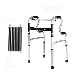 Walker ERERDIAN- Aluminio Plegable Andador para Altura ...