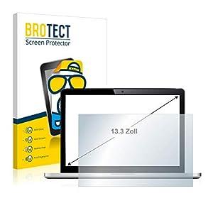 brotect Protection Ecran Mat 13.3″ pour Ordinateurs portatifs avec 13.3 Pouces [294 mm x 165.5 mm, 16:9] – Anti Reflet