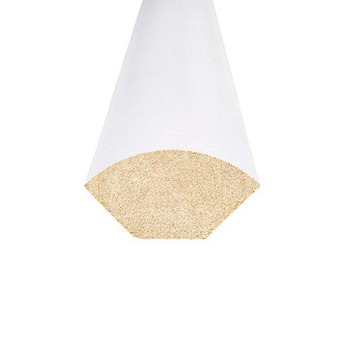 White Quarter Round 3/4 x 94 - 45 piece bundle - Prefinished - Floor Base Molding for Wood, Laminate, Wpc, Lvt and Vinyl