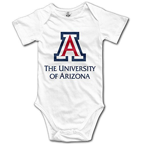 Price comparison product image OOKOO Baby's University Of Arizona Bodysuits White 24 Months