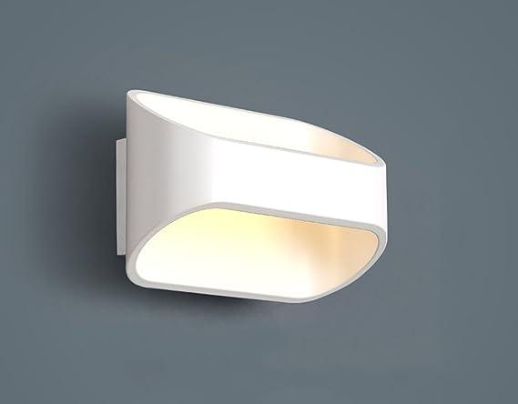 Gbyzhmh lampade da parete moderno minimalista led 3w lampada da