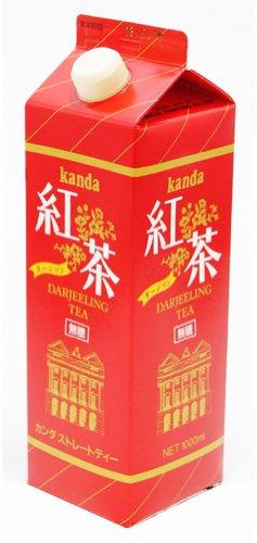 Kanda food Institute Darjeeling tea (no sugar) 1000mlX12 this by KSK