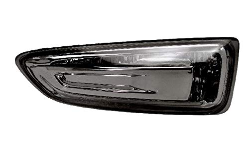 Right Driver Side Front Indicator Lamp Indicator Light Lamp (Black Bezel):