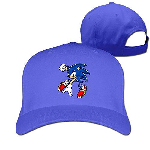 JXMD Unisex-Adult Sonic The Hedgehog Baseball Cap Hat RoyalBlue (Adult Hedgehog)
