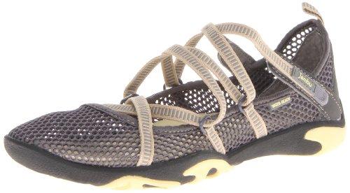 Jambu Women's Tidal Terra Marine Water Shoe,Charcoal/Buttercream,7.5 M US