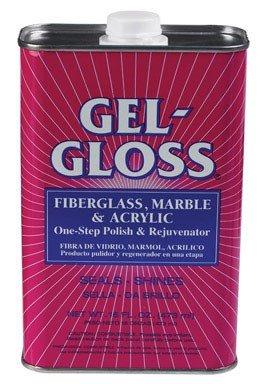 The Original Gel-Gloss Kitchen and Bath Polish and Protector, 16 oz. - To Polish How Glasses