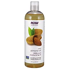 100% Pure Almond Oil is a natural oil that's perfect for nourishing and reviving any skin type. Almond oil is easily absorbed and won't clog pores, promoting clear, soft, healthy-looking skin. This skin-nourishing oil is ideal for the entire ...