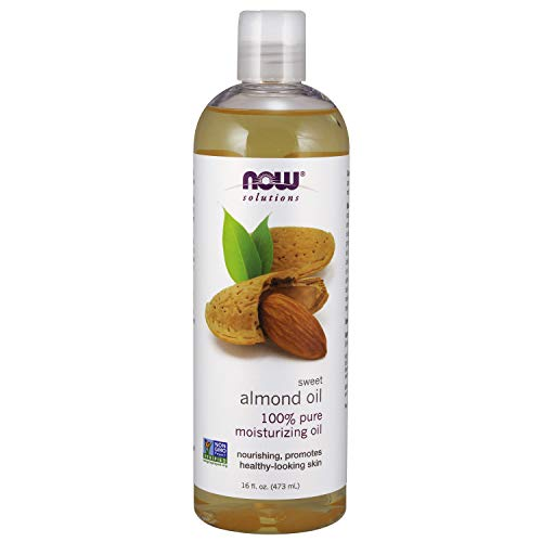 NOW Solutions, Sweet Almond Oil, 100% Pure Moisturizing Oil, Promotes Healthy-Looking Skin, 16-Ounce (Best Vegan Whipped Cream Recipe)