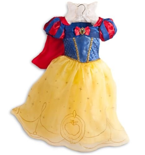 Disney Store Deluxe SNOW WHITE 2014 Dress up play Costume size - 2014 Of Costumes
