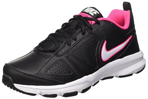 Nike Damen T-Lite XI Hallenschuhe, Schwarz (Black/White-Hyper Pink-Hyper Pink), 40 EU