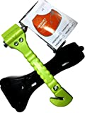 BREAKX Car Safety Hammer Seatbelt Cutter and Emergency Blanket