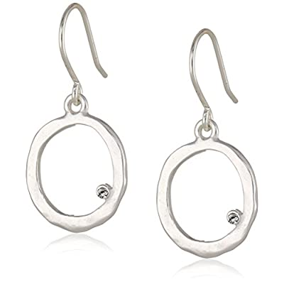 Kenneth Cole New York Silver-Tone Circle Earrings for sale