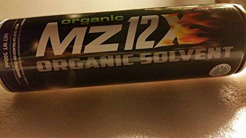Organic Mz12X ORGANIC SOLVENT 6 Cans No CFCs by Mz12X