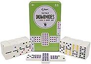 Regal Games Double 9 Dominoes in Reusable Tin Case