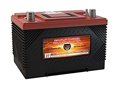 VMAX XCA27-1000 12V 1000MCA AGM Group 27/34 HONDA OUTBOARD MOTOR MARINE Battery