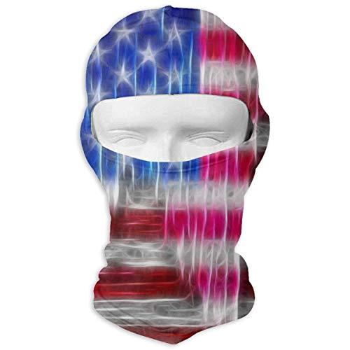 Glory Full Face Helmet - Yuisdwz Old Glory USA Flag Balaclava Face Mask Hood Outdoor Sport Hat for Ski,Cycling,Motorcycling,Climbing