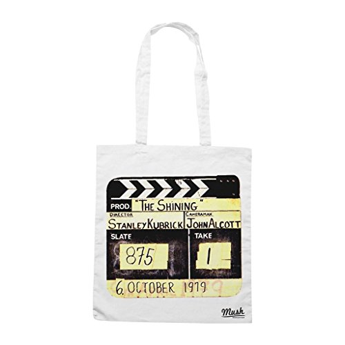 Borsa Shining Ciak Stanley Kubrick - Bianca - Film by Mush Dress Your Style