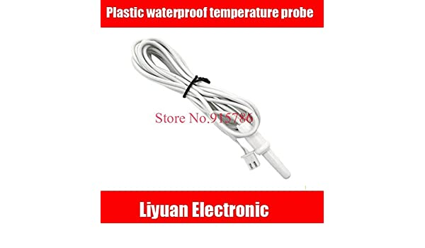 Fevas 10pcs Plastic Waterproof Temperature Probe/ABS high Precision Temperature Sensor NTC 10K B3950 thermistor: Amazon.com: Industrial & Scientific
