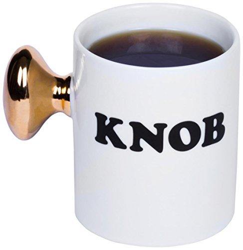 Mug Knob - Thumbsup UK, Knob Coffee Mug, KNOBMUG