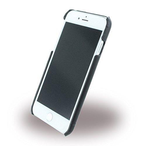 Cerruti 1881 CEHCP7SLBK Smooth Split Leder Schutzhülle für Apple iPhone 7 schwarz