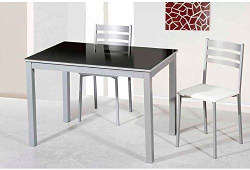 Amuebla 902. Mesa DE Cocina Extensible DE 110 X 70 CM.: Amazon.es ...